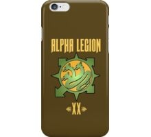 Alpha Legion XX - Warhammer iPhone Case/Skin