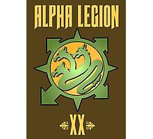 Alpha Legion XX - Warhammer Photographic Print
