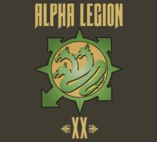 Alpha Legion XX - Warhammer by Groatsworth