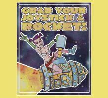 Grab Your Joystick & Rocket by JesterFunnyBooks