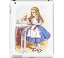 Alice and the Drink iPad Case/Skin