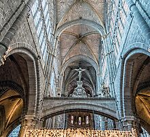 Vaults of Avila Cathedral by JJFarquitectos