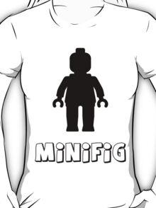 Minifig [Black], Customize My Minifig T-Shirt
