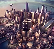 Foo Fighters Sonic Highways Album Cover by FooFighters