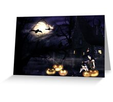 Witch house 5 Greeting Card
