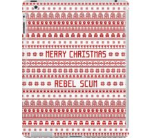 Merry Christmas Rebel Scum iPad Case/Skin