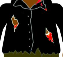 Zombie Minifig Sticker
