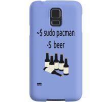 Arch Linux sudo pacman -S beer Samsung Galaxy Case/Skin