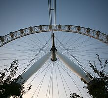 British Airways London Eye by Keith Larby