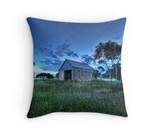 Corner Church Throw Pillow