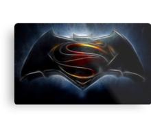Batman v Superman - Dawn of Justice  Metal Print
