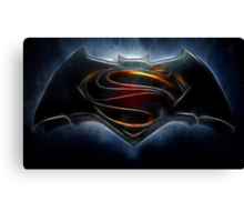 Batman v Superman - Dawn of Justice  Canvas Print