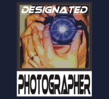 Designated Photographer Logo (men's, unisex) by Daniela Weil