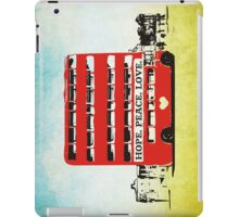 Hope Peace Love iPad Case/Skin