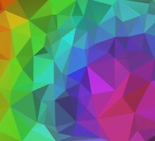 Triangle Abstract 1 by Inimma