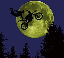 ET Freestyle in the moon. - Mashup - by dirttrackvibes