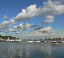 Summer afternoon on the Medway by brummieboy