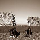Gaurding the Scarborough castle by sanyaks