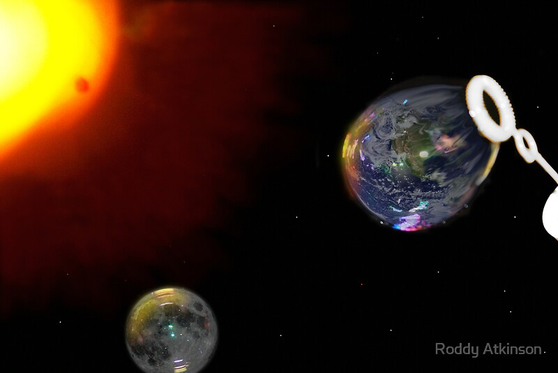 The Big Bubble Theory The Creation Of Earth By Roddy