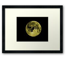 Freestyle Outta Space! Framed Print