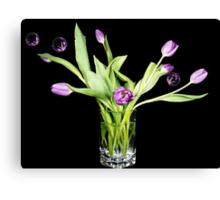 Purple Fringing Canvas Print