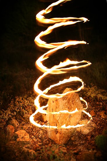 Fire Spiral by Andy Heatwole