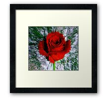 Increase Your Love Vibe Framed Print