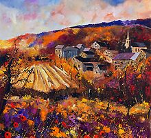 Maissin village belgium by calimero