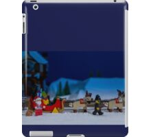 Santa gets wheel clamped iPad Case/Skin