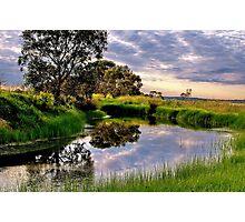 """Backwater at Hospital Swamp"" Photographic Print"