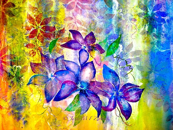 Clematis Summer... by © Janis Zroback