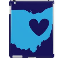 Ohio is Where the Heart is (Blue) iPad Case/Skin