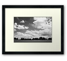 One Saturday Afternoon Framed Print