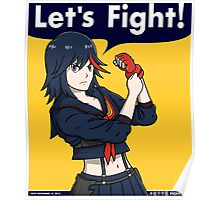 Ryuko the Fighter Poster