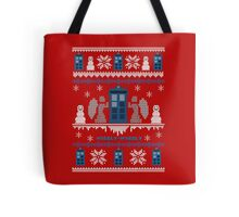 Who-liday Sweater Tote Bag