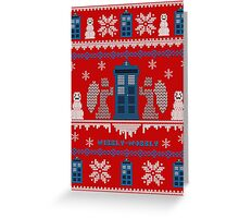 Who-liday Sweater Greeting Card