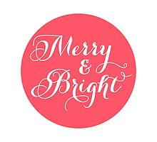 Merry and Bright, red dot by beakraus