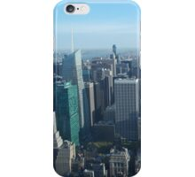 View of New York City skyline  iPhone Case/Skin