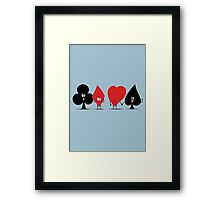 Pair of Aces Framed Print