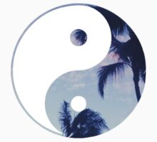 Palm Trees Yin Yang by annaw9954