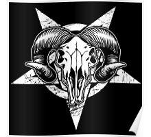 Pentangle - Pentagram / Goat Poster