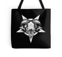 Pentangle - Pentagram / Goat Tote Bag
