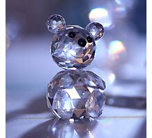 Crystal Bear Photographic Print