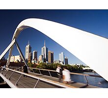 Southgate Footbridge, Melbourne Photographic Print