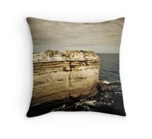 The Razor Back, Great Ocean Road, Victoria Throw Pillow