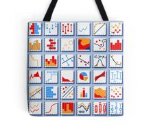 Stats Element Set in Various Colors Tote Bag