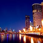 Crown Casino Fireshow, Melbourne by AustralianImagery