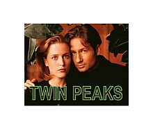 Twin Peaks / X-Files Photographic Print