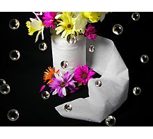 Paper Flowers Photographic Print