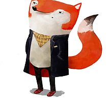 Smart Fox by colonelle